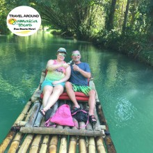 7 Time Customers enjoying our Martha Brae River Rafting Tour!