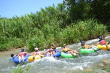 Tubing on White River in Ocho, Rios.
